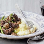 Boueuf Bourguignon and roast lamb