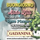 Aldo grilling Jose Pizzaro on Soho Radio from 11am today