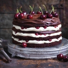 Cake recipes: Layered chocolate & sour cherry cake and Victoria sponge