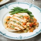 Keep it light: Grilled chicken and poached pears recipes