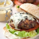 Chicken burger and ice cream recipes by the Hairy Bikers