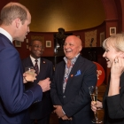 Aldo at the Centre point with Prince William